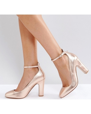 gold rose shoes