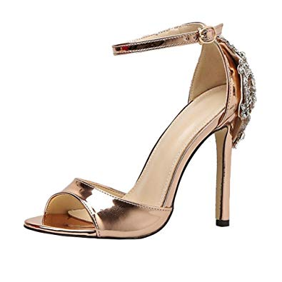 shoes gold