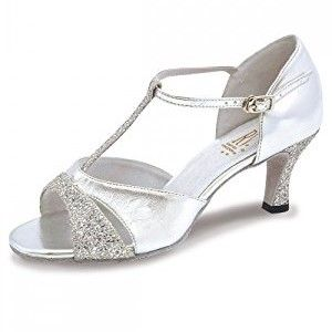 shoes in silver